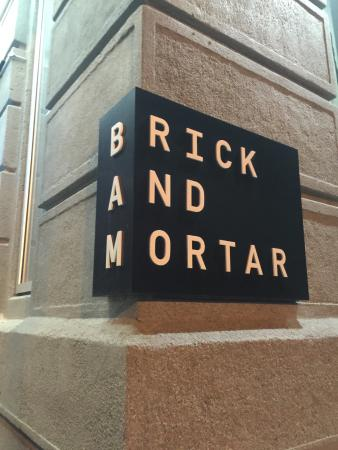 Brick and Mortar Restaurant and Bar in Philadelphia